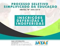 Educação - PROCESSO SELETIVO SIMPLIFICADO