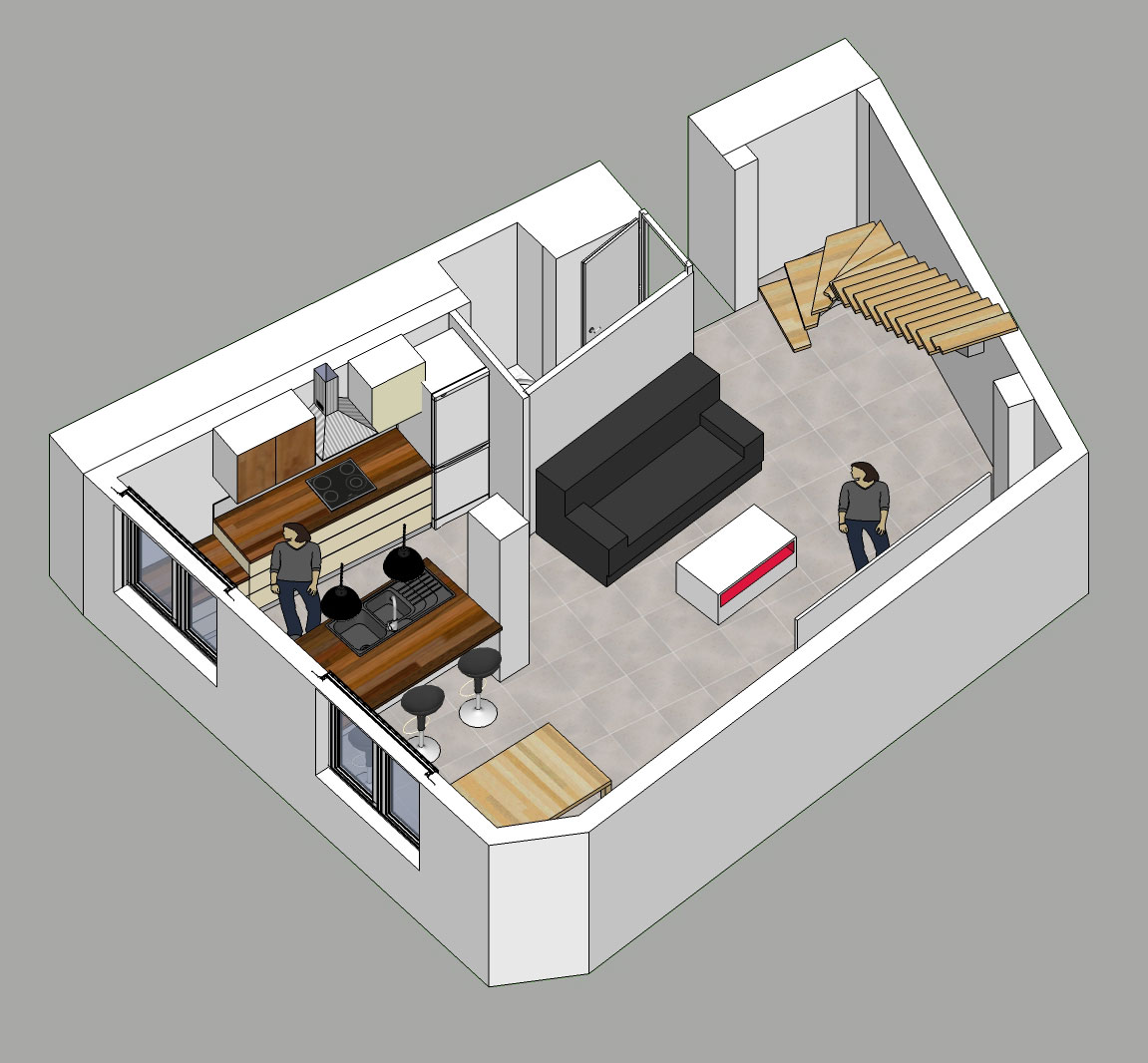 R novation de ma maison mon projet for Modelisation maison 3d