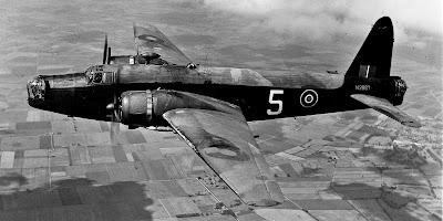 Vickers Wellington plane