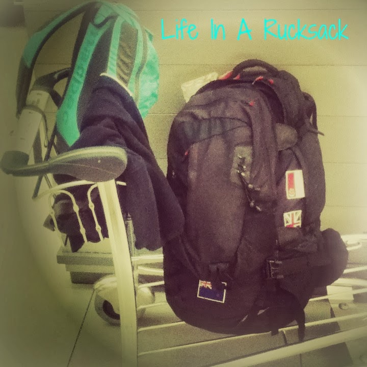 Life in a rucksack