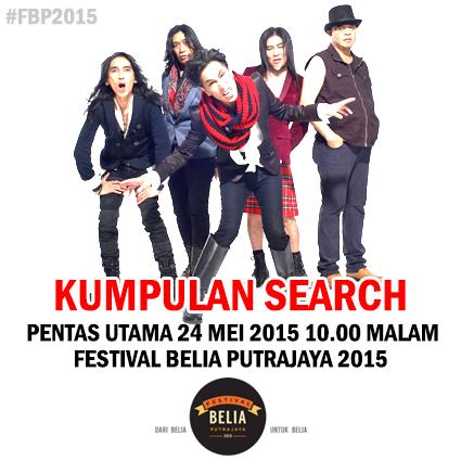 """#FBP2015 @festivalbelia15 : Kumpulan SEARCH """"Lawan"""" Akim & The Magistrate Di Pentas Utama?!"""