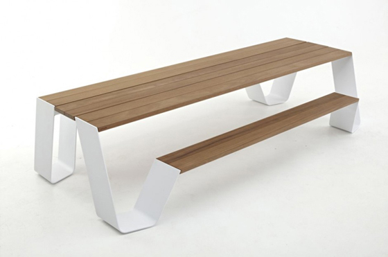 3d furniture for sketchup outdoor bench table for Table design outdoor