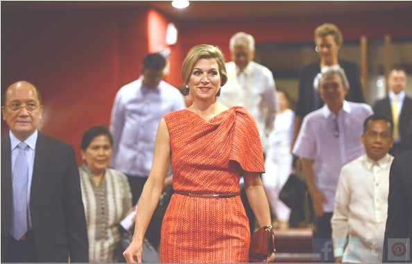 Queen Maxima's Visits To The Philippines, 2nd Day