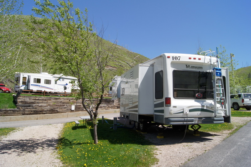 RV Campsites And Reviews 6 3 11 Whistler Gulch RV Park