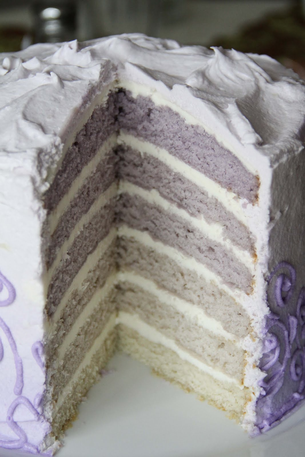 Layers Cake Design Studio : MyStudio: Six Layer Cake