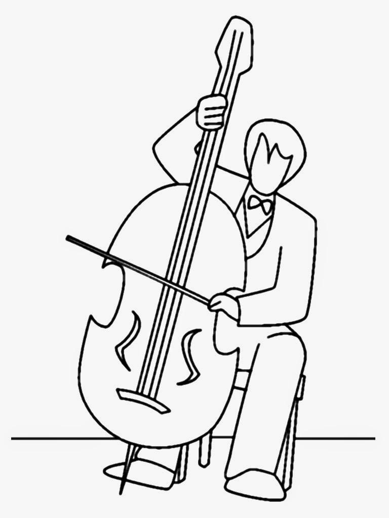 famous musicians coloring pages