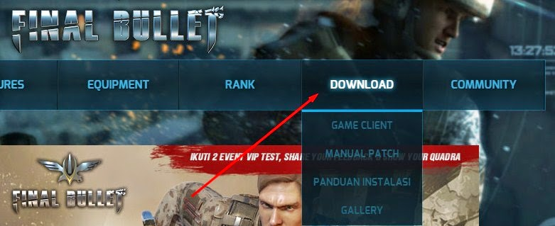 Cara Download, Install Dan Bermain Game Final Bullet Terbaru