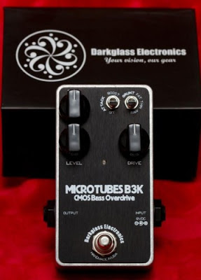 Darkglass Electronics, B3K, Darkglass Electronics B3K, Darkglass Electronics B3K Bass Distortion Pedal, Bass Guitar, Bass, Distortion Pedal, Distortion, Overdrive, Overdrive Pedal, OD Pedal, B3K Bass Distortion