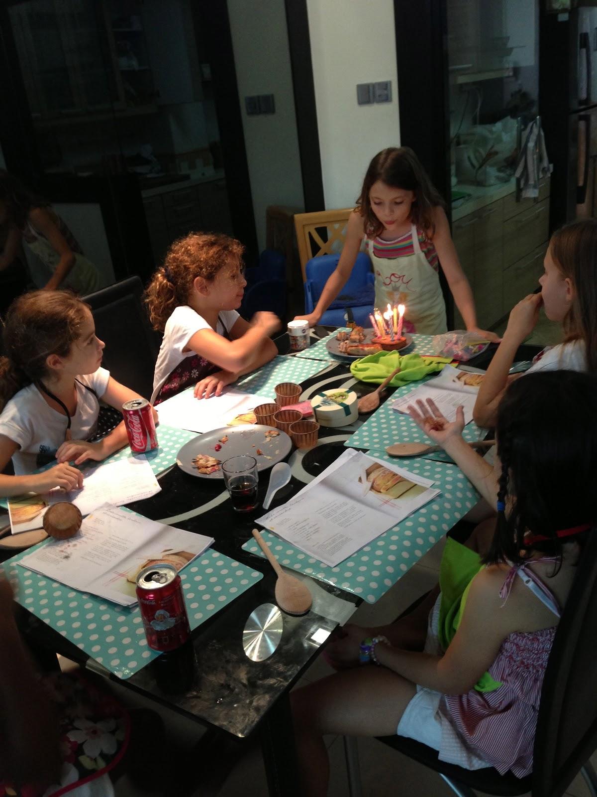 anniversaire entre copines 8 ans