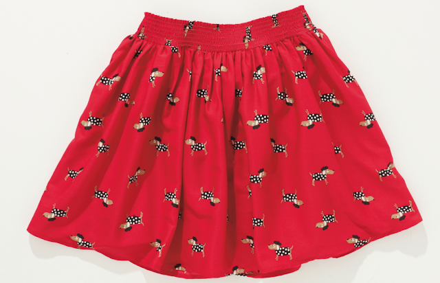 mamasVIB | V. I. BUYS: OH LA LA! Little Parisian Chic at Next, Next | Dog print skirt | VI BABY | mama's VIB | baby fashion| blog|kids style | Fashion editor style