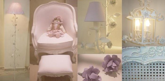 acessorios para quarto de princesa