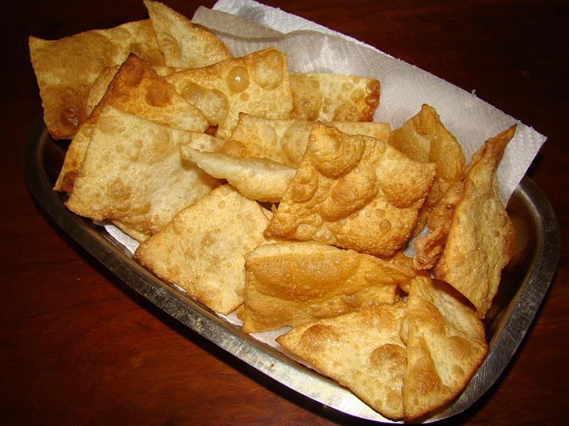 como preparar wantan frito en casa