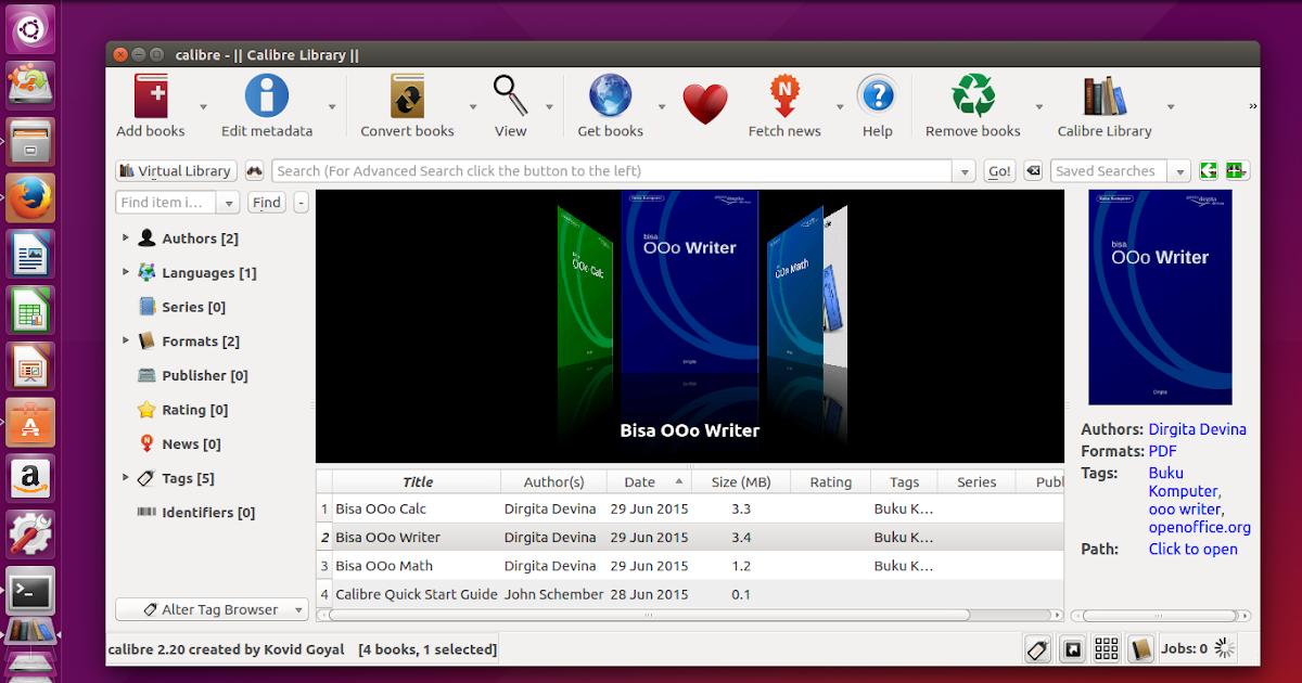 How To Install Calibre on Ubuntu 15.04