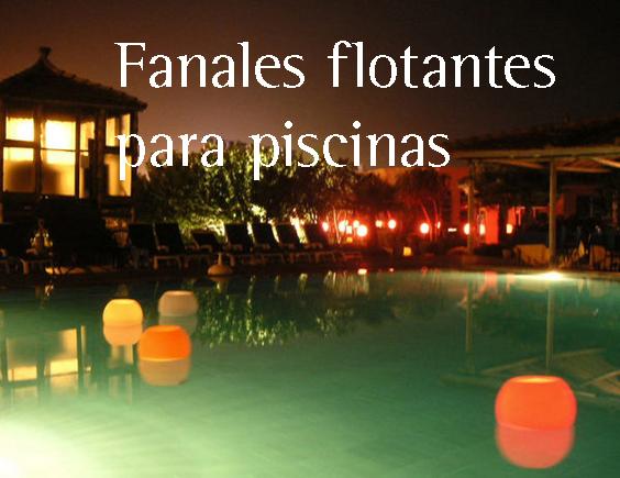 Velas y decoracion para bodas tematicas velas y for Velas flotantes piscina