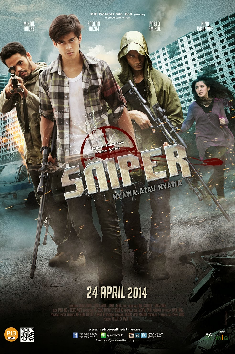 SNIPER nyawa atau nyawa full movie