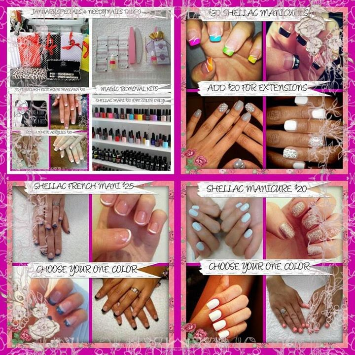 acrylic nails shellac french manicure extensions nail art designs