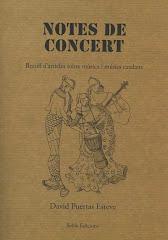 """""""Notes de concert"""""""