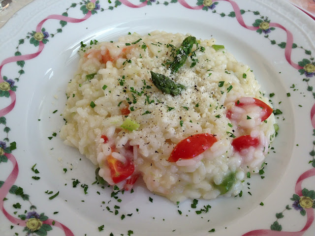 food, food, food, love food: Perfect Risotto at Hotel Torretta