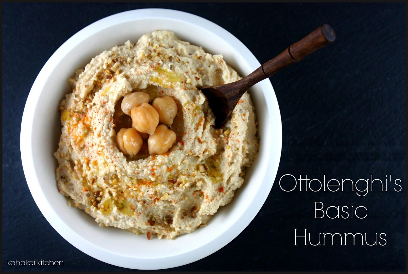 basic hummus ottolenghi