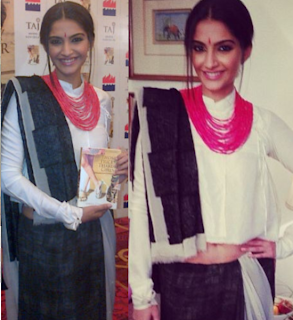 Sonam kapoor at Anuja Chauhan's book launch