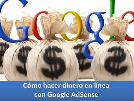 Cómo hacer dinero en línea con Google AdSense