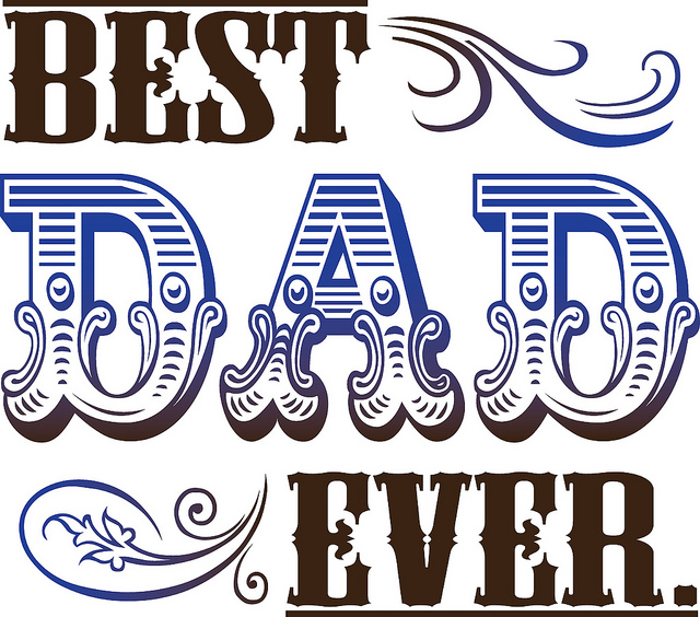 A book all about the best dad in the world printable