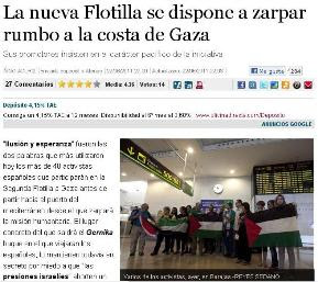 ZARPA LA SEGUNDA FLOTILLA