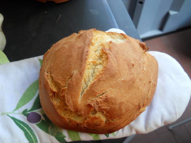 pane bianco con la mpd