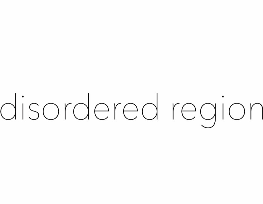 disordered region