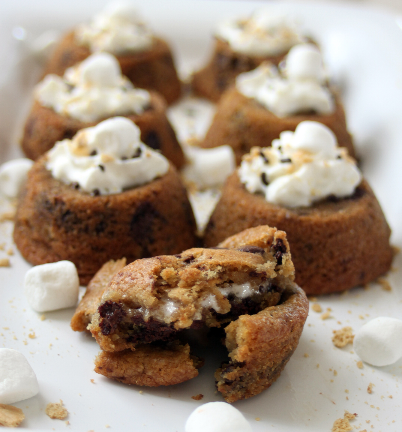 Phoenix Family Foodie Blog: S'mores Stuffed Chocolate Chip Cookies