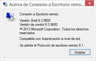 Windows: Modo RESTRICTEDADMIN del cliente de RDP