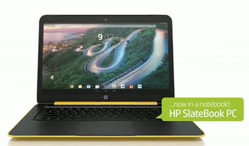 Laptop chạy Android, có khe SIM, CPU Nvidia bốn nhân