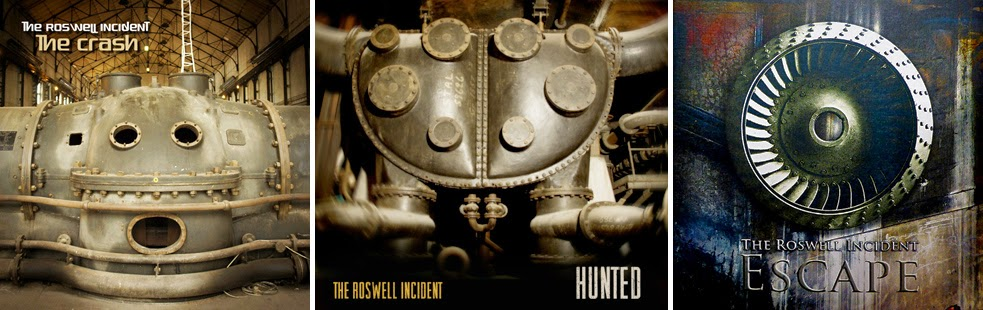 The Roswell Incident CD covers