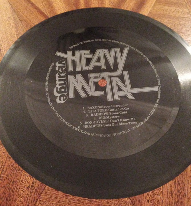 flexidisc heavy metal saxon dio