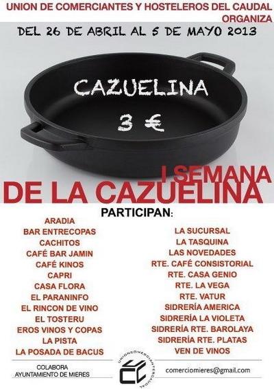 1 JORNADAS DE LA CAZUELINA