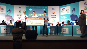 WINNER@ Tata Crucible Corporate Quiz 2011 Guwahati Regional Finals