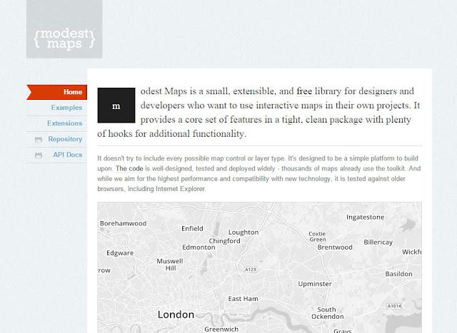 Modest Maps