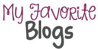 My Favorite Blogs