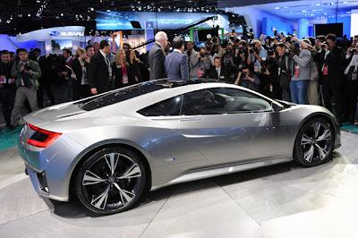 Acura NSX Concept ,Destaques do Salão do Automóvel de Detroit 2012