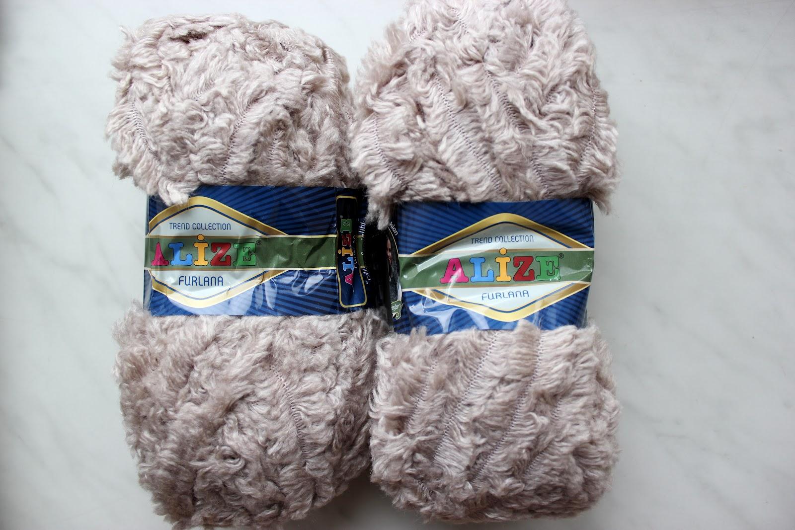 Вязание пряжа как мех 144