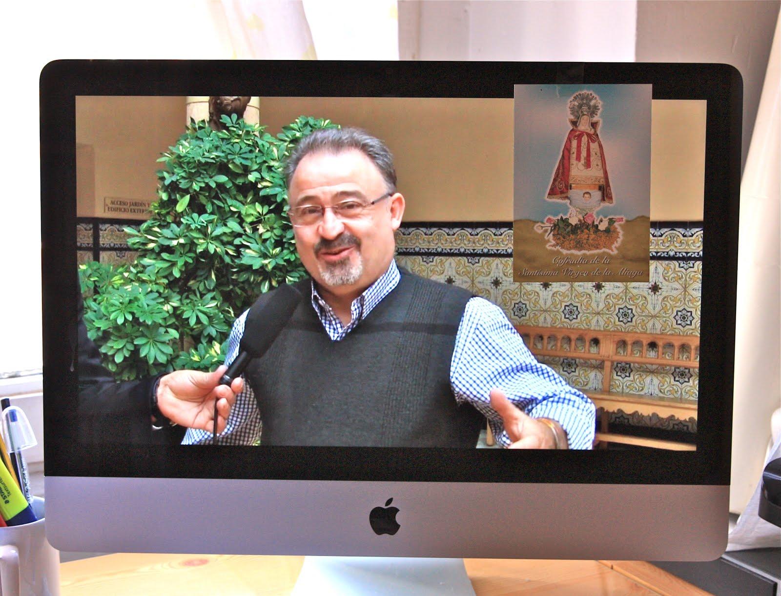Entrevista al Ex-Rector del Santuario de Nuestra Señora de la Aliaga