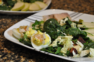 Smoked Trout Salad with Trout Deviled Eggs