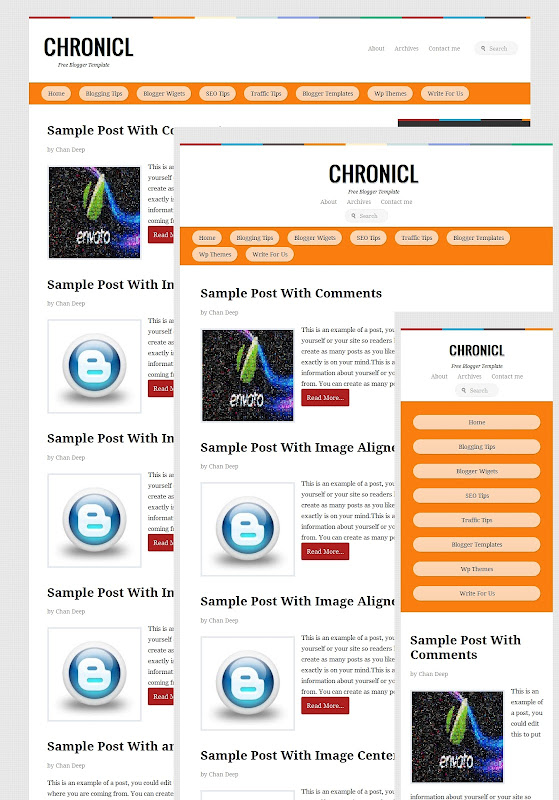 chronicl responsive