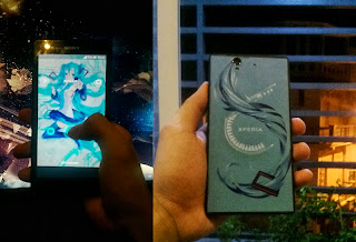 Image on hand Xperia Z (Hatsune Miku) special edition has not been revealed