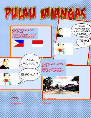 Karya Siswa Terbaik Komik Proyek PKn Kelas XI