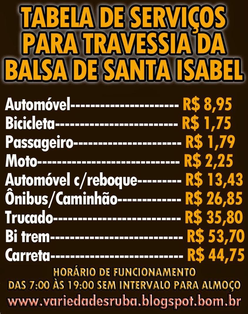 BALSA DE SANTA ISABEL