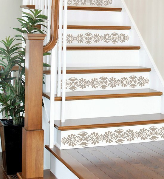 Ideas For Wall Decor On Stairs : The staircase steps decor ideas home decorating