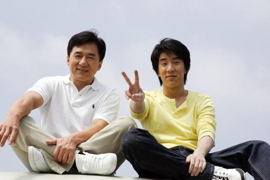 Jackie+Chan+dan+anaknya+Jaycee+Chan