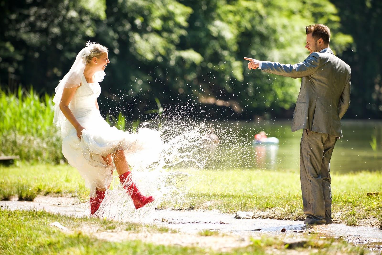 Rustic 4 Weddings: Wedding Dress And Rainboots \