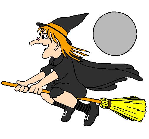 desenhos para colorir melhores desenhos de bruxas para colorir